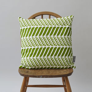 Pea Pod Cushion