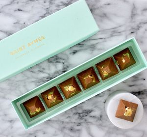 Caramel Milk Chocolate, Sea Salt, Edible Gold The Klimt - cakes & treats
