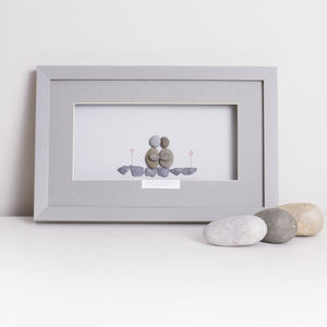 'You've Got A Friend In Me' Personalised Pebble Artwork - pictures & prints for children