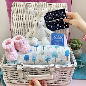 Bespoke Baby Gift Hamper New Mum And Newborn Baby Gift