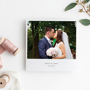 Molly Personalised Wedding Photo Thank You Cards