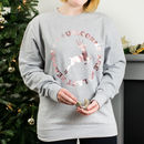 Unicorns Are So Last Season Rose Gold Christmas Jumper
