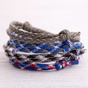 Boys Family Paracord Bracelet - children's jewellery