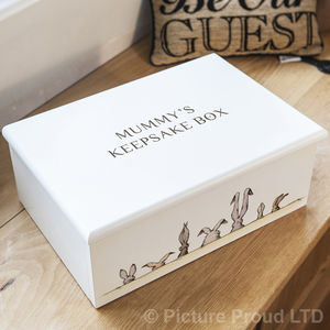 Hare 'Keepsake Box' Keepsake Boxes - keepsake boxes