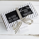 Just Married Socks Gift Box