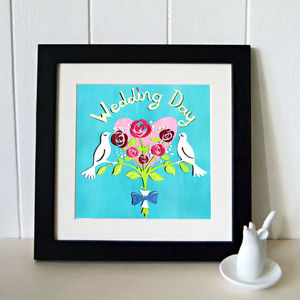 Dove 'Wedding Art' Print, Dove Art