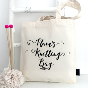Mother's Day Knitting Bag - creative kits & experiences
