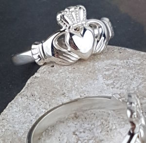Claddagh Ring In Sterling Silver By David Louis