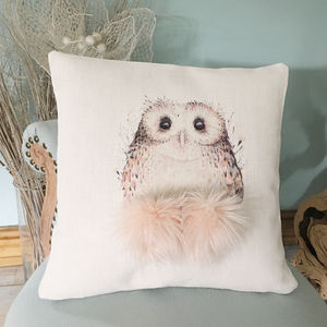 Owl Personalised Cushion
