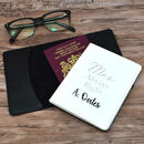 Personalised Passport Covers Mr And Mrs