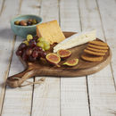 Handmade Mango Wood Round Chopping Board