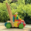 Caterpillar Baby Walker With Wooden Blocks