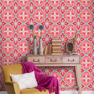 Rufous Tile Wallpaper - home accessories