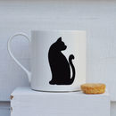 Fine Bone China Cat Mug