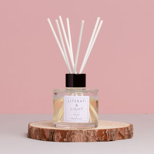Pride And Prejudice Rose And Peony Luxury Reed Diffuser