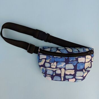 Geo Pattern Bum Bag
