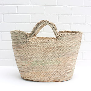 Capri Handmade Shopping Basket
