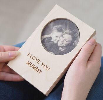 Personalised Mother's Day Photo Keepsake