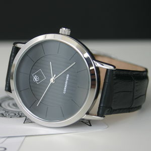 Classic Gentleman's Timepiece Nero Black Watch - watches