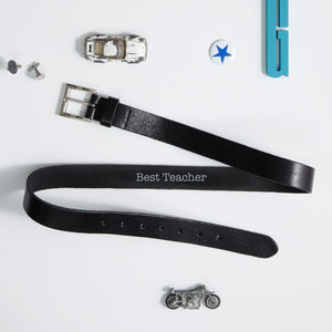 Best Teacher Personalised Belt - belts
