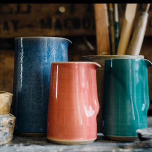 Hand Thrown Jugs - re-earthed