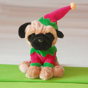 Doug The Pug At Christmas