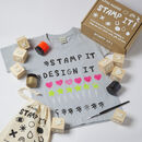 Children's Diy Stamp T Shirt