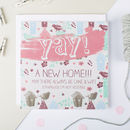 Funny New Home Card 'Cake And Wifi'
