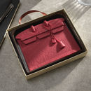 Pink Designer Chocolate Handbag