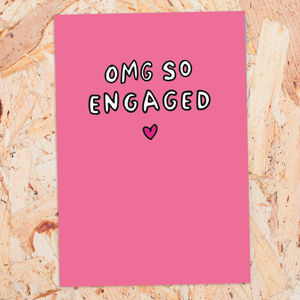 Omg So Engaged - shop by occasion