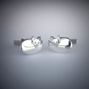 Fox Cufflinks - new in mens jewellery