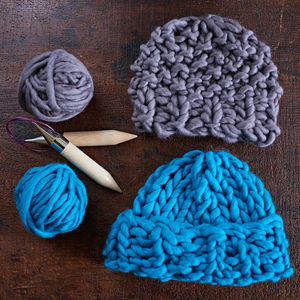 Knit Kit For Loft Chunky Knit Hat - sewing & knitting