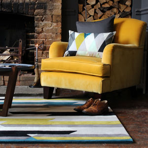 Scandinavian Rand Rug - living room