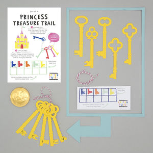 Go On A Princess Treasure Trail - wedding day activities