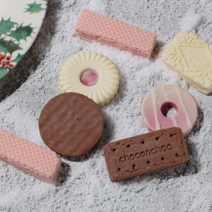 Box Of Biscuit Shaped Chocolates - chocolates & confectionery
