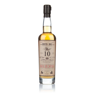 Master Of Malt 10 Year Old Blended Whisky - artisan alcohol