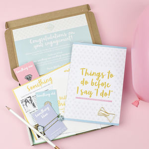Bride To Be Box - albums & guest books