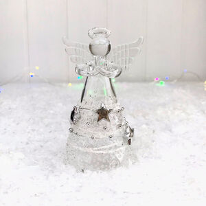Christmas Glass Angel