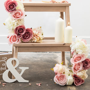Handmade Flower Letter Set Wedding Decoration - home accessories