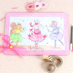 Three Ballerinas Placemat - dining room