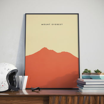 Mount Everest, Print. Poster