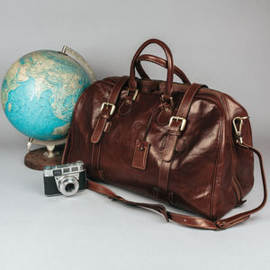 The Finest Italian Leather Holdall. 'The Flero M' - bags & cases