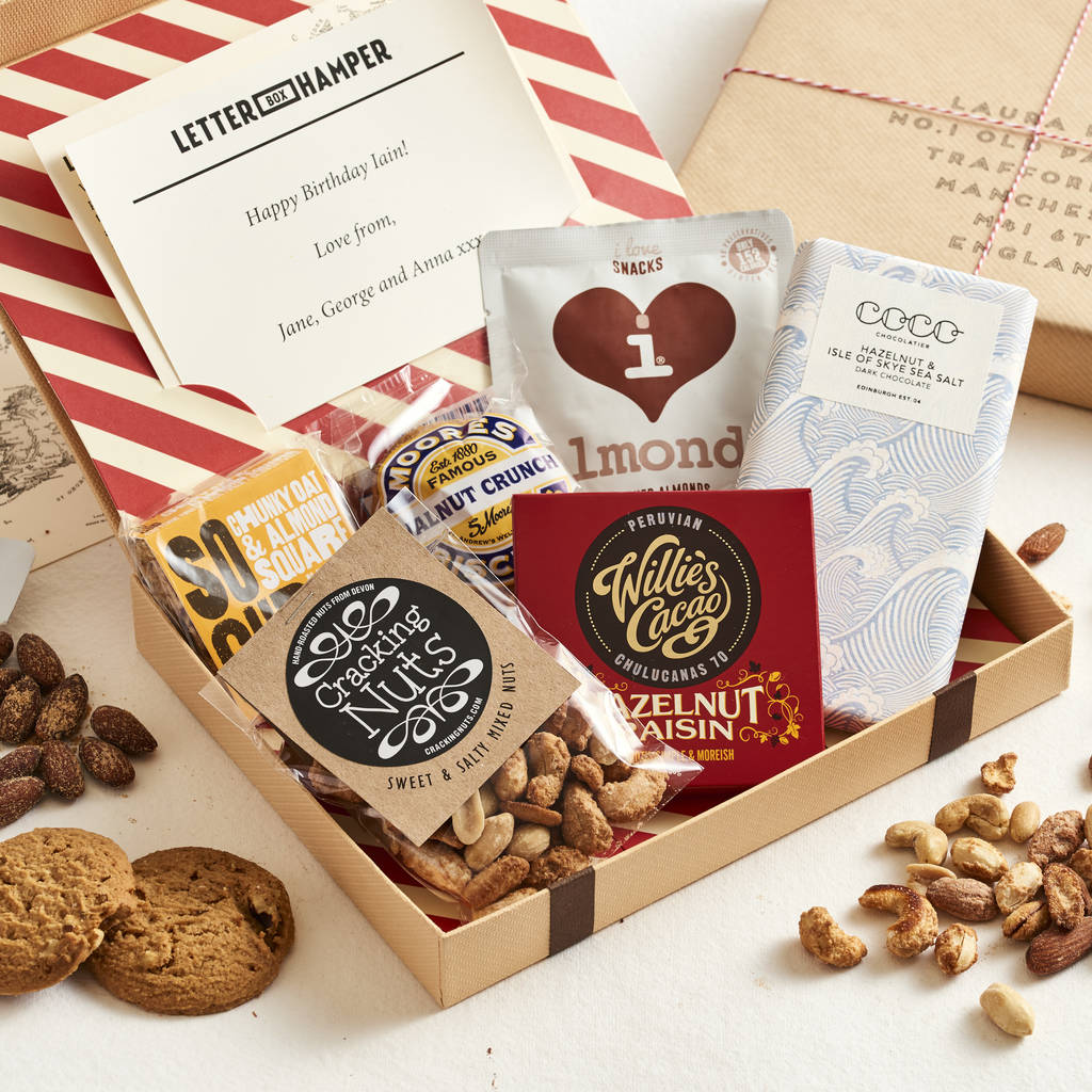 Father's Day Edition Personalised Letter Box Hamper