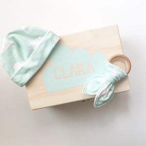 Personalised Baby Gift Box