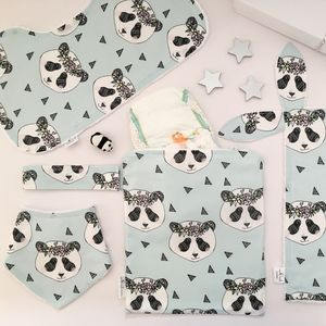 New Baby Panda Gift Set - gift sets