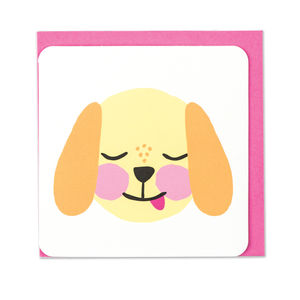 'Dog' Card - general birthday cards