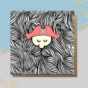Bearded Pirate Card