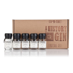 Gin Monkey A History Of Gin Tasting Set - foodies
