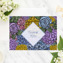 Floral 'Dahlia' Wedding Invitations