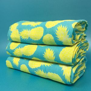 Tropical Pineapple Muslin - baby & child sale